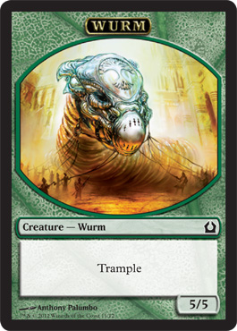 Wurm Token | Magic: The Gathering Card