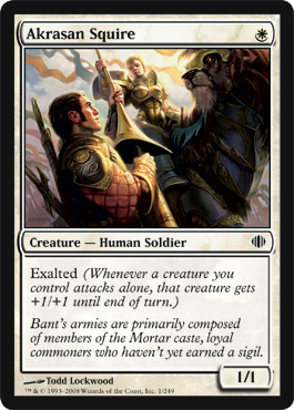 Akrasan Squire | Magic: The Gathering Card