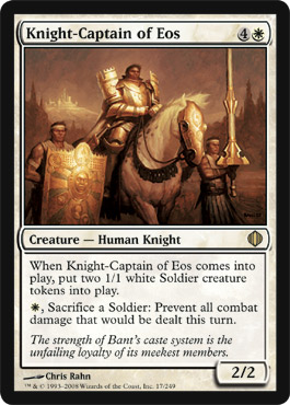 Knight-Captain of Eos | Magic: The Gathering Card