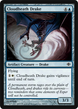 Cloudheath Drake | Magic: The Gathering Card