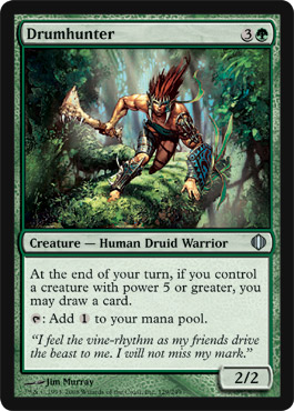 Drumhunter | Magic: The Gathering Card