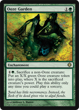 Ooze Garden | Magic: The Gathering Card