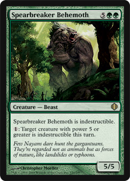Spearbreaker Behemoth | Magic: The Gathering Card