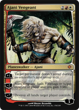 Ajani Vengeant | Magic: The Gathering Card