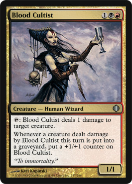 Blood Cultist | Magic: The Gathering Card