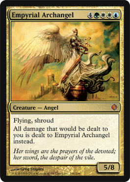 Empyrial Archangel | Magic: The Gathering Card