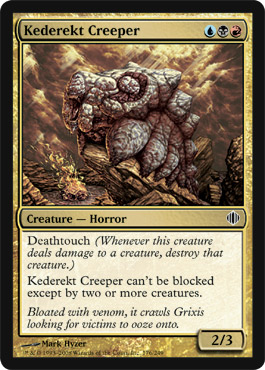 Kederekt Creeper | Magic: The Gathering Card