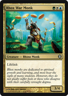 Rhox War Monk | Magic: The Gathering Card