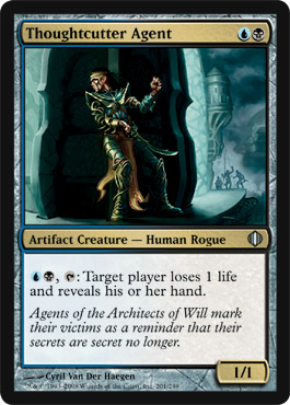 Thoughtcutter Agent | Magic: The Gathering Card