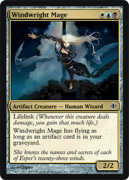 Windwright Mage | Magic: The Gathering Card