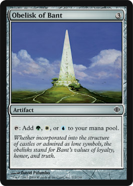 Obelisk of Bant | Magic: The Gathering Card