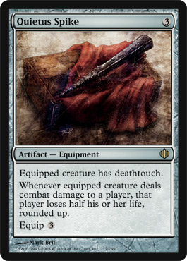 Quietus Spike | Magic: The Gathering Card