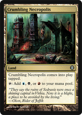 Crumbling Necropolis | Magic: The Gathering Card