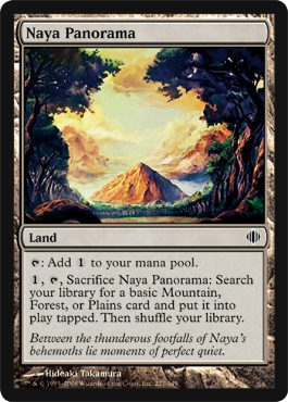 Naya Panorama | Magic: The Gathering Card