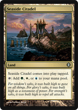 Seaside Citadel | Magic: The Gathering Card