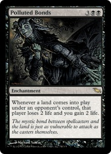 Polluted Bonds | Magic: The Gathering Card