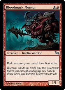 Bloodmark Mentor | Magic: The Gathering Card