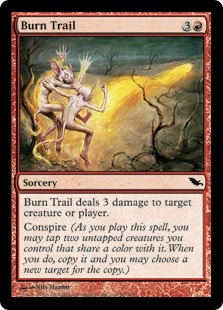 Burn Trail | Magic: The Gathering Card