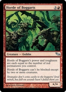 Horde of Boggarts | Magic: The Gathering Card