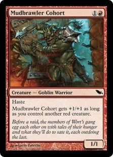 Mudbrawler Cohort | Magic: The Gathering Card