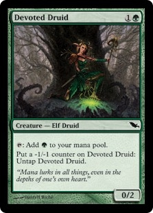 Devoted Druid | Magic: The Gathering Card