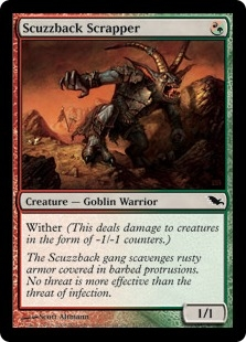 Scuzzback Scrapper | Magic: The Gathering Card