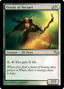 Oracle of Nectars | Magic: The Gathering Card