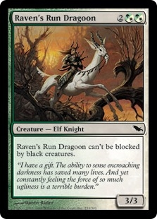 Raven's Run Dragoon | Magic: The Gathering Card
