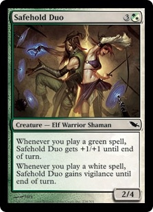 Safehold Duo | Magic: The Gathering Card