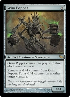 Grim Poppet | Magic: The Gathering Card