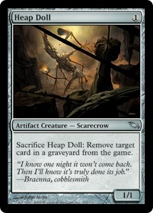 Heap Doll | Magic: The Gathering Card