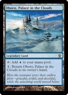 Oboro, Palace in the Clouds | Magic: The Gathering Card
