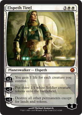 Elspeth Tirel | Magic: The Gathering Card
