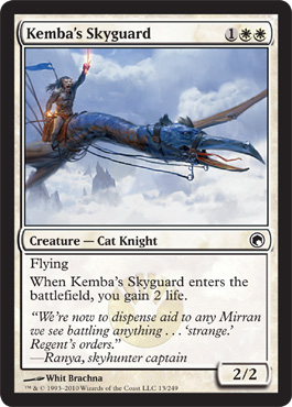Kemba's Skyguard | Magic: The Gathering Card
