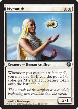Myrsmith | Magic: The Gathering Card