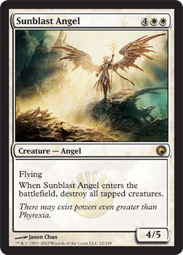 Sunblast Angel | Magic: The Gathering Card