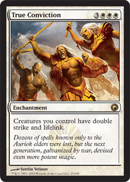 True Conviction | Magic: The Gathering Card