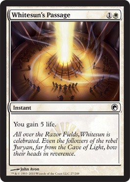 Whitesun's Passage | Magic: The Gathering Card