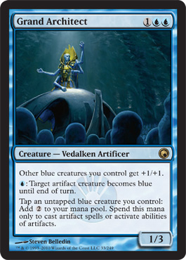 Grand Architect | Magic: The Gathering Card