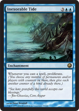 Inexorable Tide | Magic: The Gathering Card