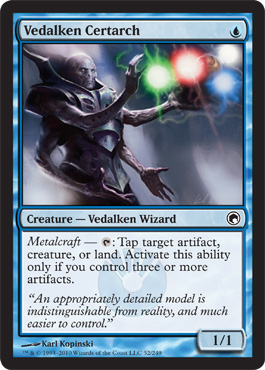Vedalken Certarch | Magic: The Gathering Card