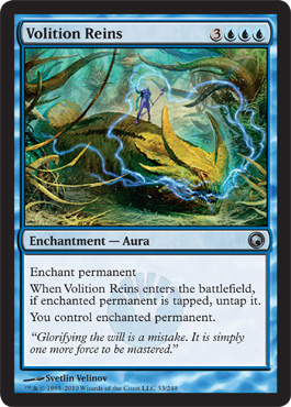 Volition Reins | Magic: The Gathering Card