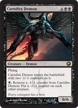 Carnifex Demon | Magic: The Gathering Card