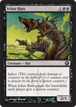 Ichor Rats | Magic: The Gathering Card