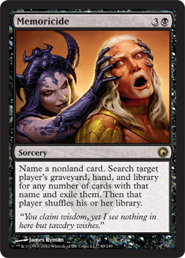 Memoricide | Magic: The Gathering Card