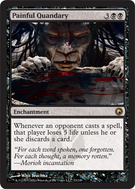 Painful Quandary | Magic: The Gathering Card
