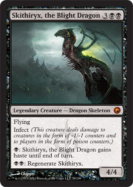 Skithiryx, the Blight Dragon | Magic: The Gathering Card