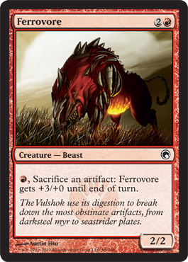 Ferrovore | Scars of Mirrodin | Magic: The Gathering at ... Planeswalker S Guide To Mirrodin