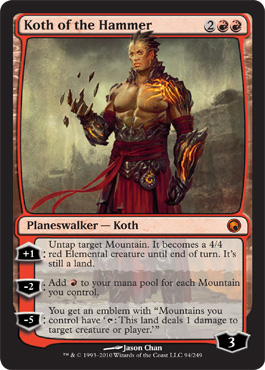 Koth of the Hammer | Magic: The Gathering Card