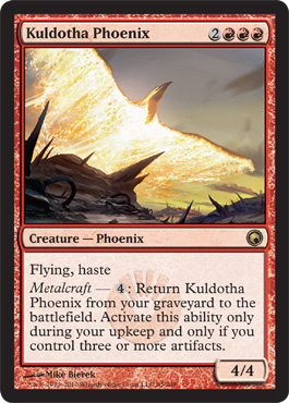 Kuldotha Phoenix | Magic: The Gathering Card